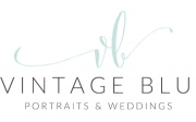 Vintage Blu Portraits & Weddings logo